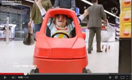 Carrefour Tv Reklam�'nda oyuncumuz Enes Topcu rol ald�.