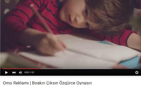 Omo Reklam�'nda oyuncumuz Ahmet Mete Mumcu, rol ald�.