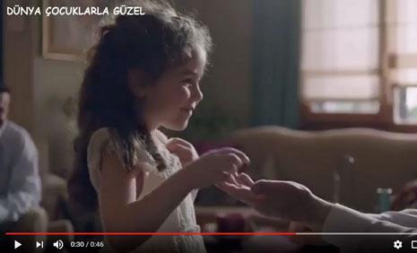 Torku �ekerleri Ramazan Bayram� Reklam�'nda Oyuncumuz Lina �elik Rol Ald�