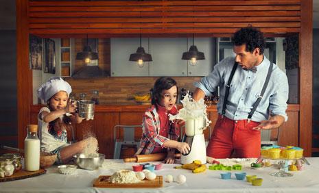 Ki��l� Babalar G�n� Foto�raf �ekiminde �ocuk Modelimiz, Ahmet Mete Mumcu Yer Ald�