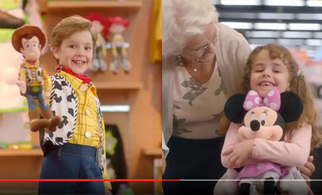 Disney Teknosa Reklam�'nda Oyuncular�m�z Lina �elik ve Berke Karab�y�k Rol Alm��t�r