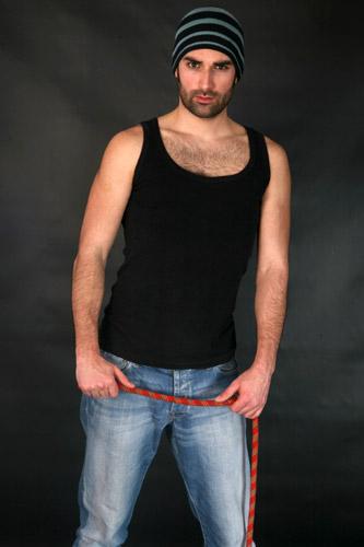 Lotus Jeans ekspozisyonunda mankenimiz Mehmet Ali Kýlýç çalýþtý. - IMC AJANS
