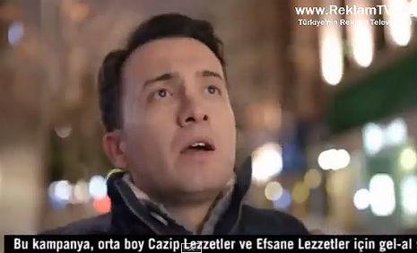 Dominos Pizza Reklamý\'nda, oyuncumuz Ali Yýlmaz, rol aldý. - IMC AJANS