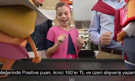 Pozitif Card ve Money Club Kampanya Reklamý'nda oyuncumuz Elif Sevinç rol aldý. - IMC AJANS