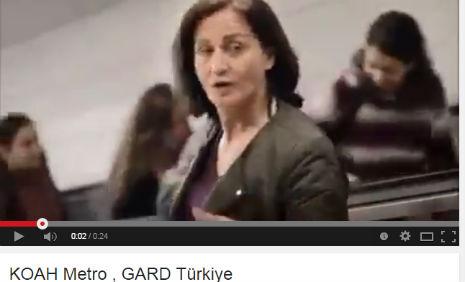 Koah Metro Kamu Spotu Reklamý'nda oyuncumuz Mihriban Temizler, rol aldý.  - IMC AJANS