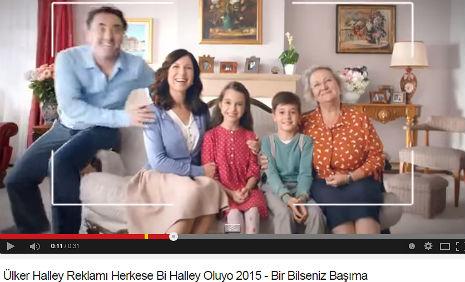 Ülker Halley Reklamý'da, çocuk oyuncumuz Eren Kafadar, rol aldý. - IMC AJANS