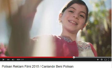 Polisan Reklamý'nda oyuncumuz Elif Sevinç rol aldý.   - IMC AJANS