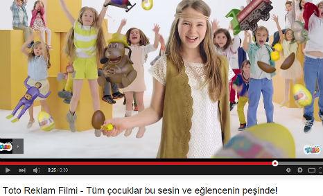 Toto Çikolata Reklamý'nda oyuncumuz Afra Aydýn rol aldý. - IMC AJANS