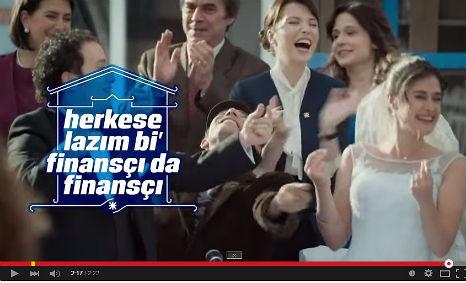 Finansbank Reklamý'nda oyuncumuz Gürcan Danlý rol aldý. - IMC AJANS