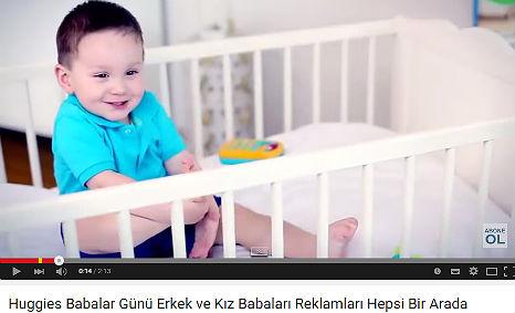 Huggies Babalar Günü Reklamý'nda kadromuzda bulunan Emir Buðra Enç ve Liya Özel rol aldý. - IMC AJANS