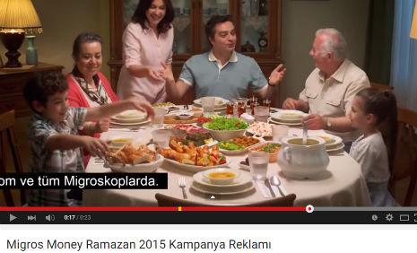 Migros Money Ramazan 2015 Kampanya Reklamý'nda oyuncumuz Yiðit Keskin rol aldý.  - IMC AJANS