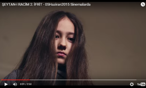 Þeytan-ý Racim 2: Ýfrit Sinema Filmi'nde oyuncumuz Lara Çelebi rol aldý. - IMC AJANS