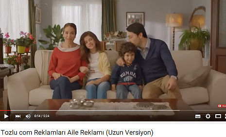 Tozlu.com Reklamý'nda oyuncumuz Ýrem Nil Kýlýçay rol aldý. - IMC AJANS