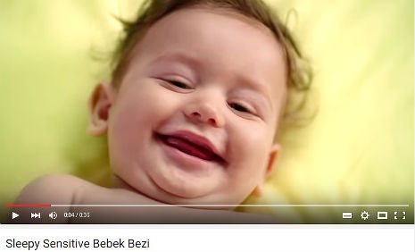Sleepy Sensitive Bebek Bezi Reklamý'nda oyuncumuz Ayaz Karahan, rol aldý. - IMC AJANS