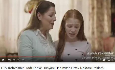 Kahve Dünyasý Reklamýnda oyuncumuz Meryem Birdal, rol aldý. - IMC AJANS