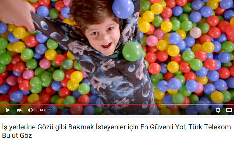 Türk Telekom Bulut Göz Reklamýnda oyuncumuz Bulut Azem Malkoçoðlu, rol aldý. - IMC AJANS