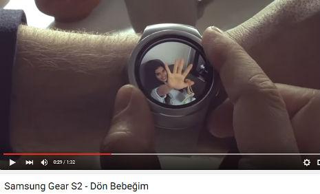 Samsung Gear S2 Kol Saati Reklamýnda oyuncumuz Nur Cansu Solak, rol aldý. - IMC AJANS