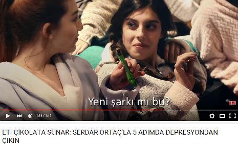 Eti Çikolata Reklamý'nda oyuncumuz Nur Cansu Solak, rol aldý. - IMC AJANS
