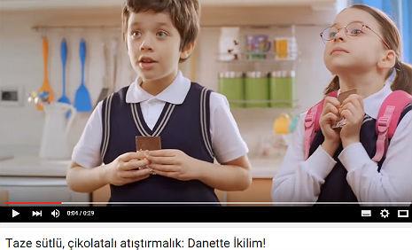 Danette Ýkilim Reklamý'nda, oyuncumuz Özer Tuncer, rol aldý. - IMC AJANS