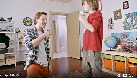 Dimes Meyve Suyu Reklamý'nda oyuncumuz Ömer Mercan, rol aldý. - IMC AJANS