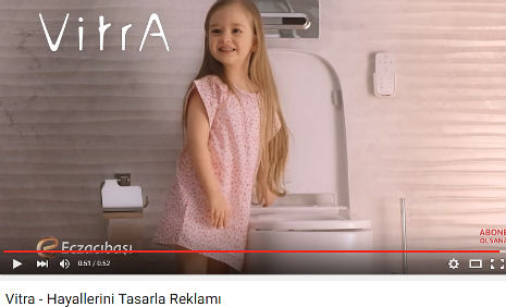 Vitra Reklamý'nda oyuncumuz Mihrimah Cankur, rol aldý. - IMC AJANS