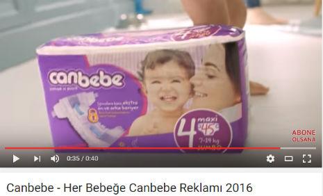 Can Bebe Bebek Bezi Reklamý'nda oyuncumuz Mete Kaðan Tuncil, rol aldý. - IMC AJANS