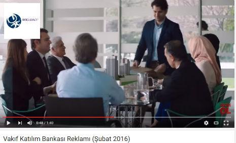 Vakýf Katýlým Bankasý Reklamý'nda oyuncularýmýz Tahir Çalýþ, Dilara Nur Yýlmaz, rol aldý. - IMC AJANS