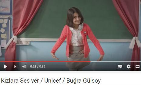 Kýzlara Ses ver / Unicef Reklamý'nda oyuncumuz Ýremsu Teker, rol aldý. - IMC AJANS