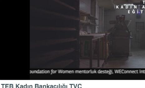 Teb Reklamý'nda oyuncumuz Anastassiya Unat, rol aldý. - IMC AJANS