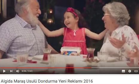 Algida Dondurma Reklamý'nda, oyuncumuz Ýkra Külahlýoðlu, rol aldý. - IMC AJANS
