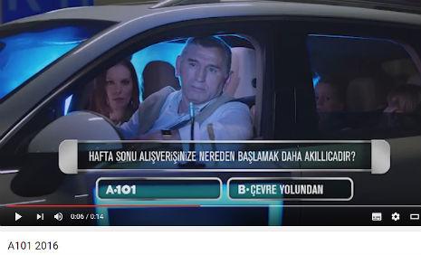 A101 Reklamý'nda, oyuncumuz Selami Karakaya, rol aldý. - IMC AJANS