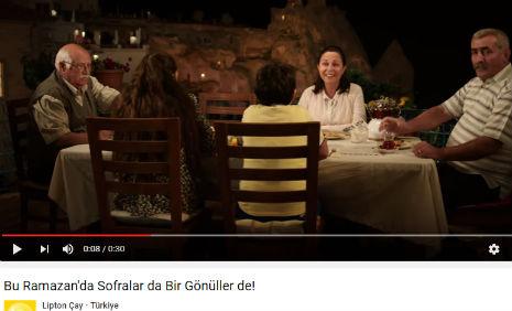Lipton Reklamý'nda, oyuncumuz Mürüvvet Tunga Baþýbüyük, rol aldý. - IMC AJANS