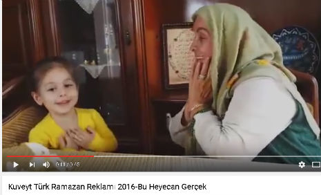 Kuveyt Türk Reklamý'nda oyuncularýmýz Sudenaz Tüccar, Dilek Tüccar, Erinç Kadem, rol aldý. - IMC AJANS