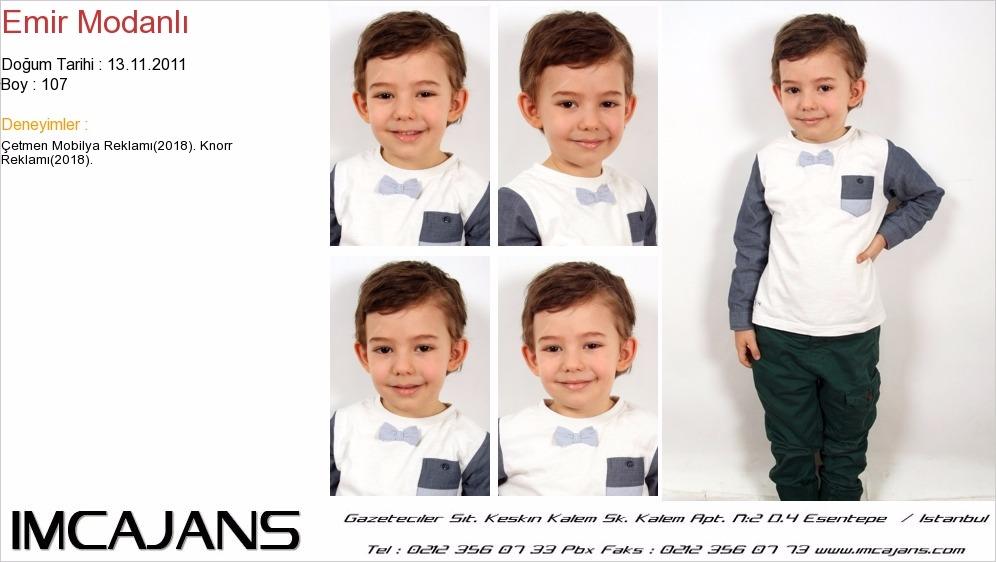 Çocuk oyuncumuz Emir Modanlý, Knorr reklamýnda yer aldý - IMC AJANS