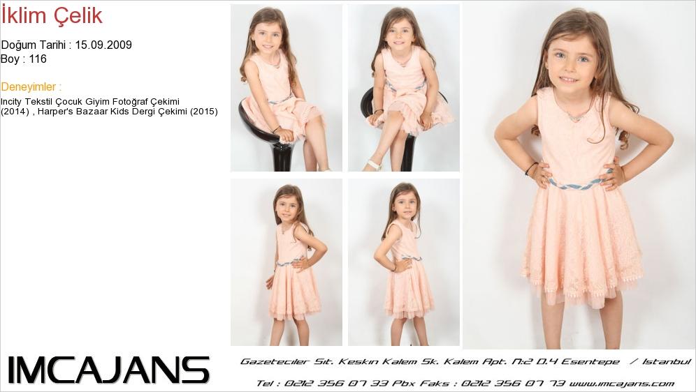Harper's Bazaar Kids Dergisi'nde, fotomodelimiz Ýklim Çelim yer aldý. - IMC AJANS