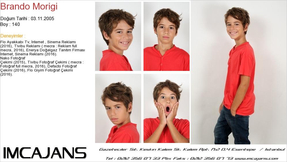 Çocuk Oyuncumuz Brando Morigi, Enerya Reklamýnda Yer Aldý. - IMC AJANS