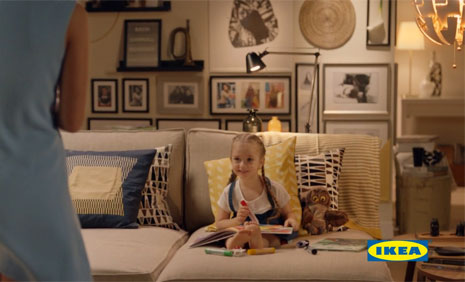 IKEA Reklamýnda Oyuncumuz, Mihrimah Cankur Rol Aldý - IMC AJANS