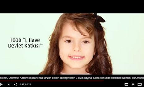 Vakýf Emeklilik Reklam Filminde Çocuk Oyuncumuz Ela Danýþmaz Yer Aldý. - IMC AJANS