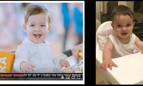 e- bebek baby me bebek bezi reklamýnda dünyalar güzeli bebek oyuncumuz Alara Seber yer almýþtýr. - IMC AJANS