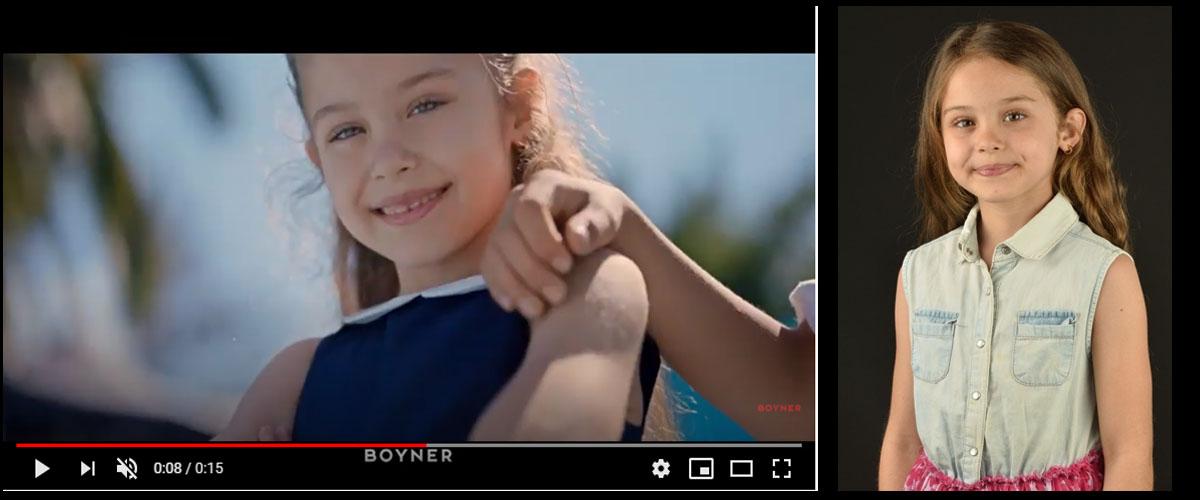 Boyner tarzýmýz güzel reklamýnda baþarýlý oyuncumuz Almina Günaydýn yer aldý. - IMC AJANS