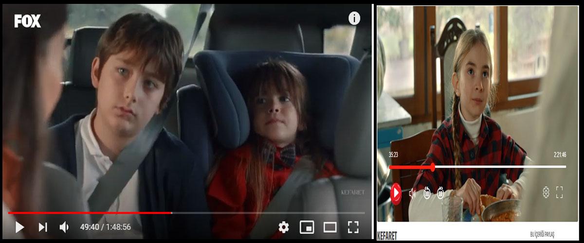 Fox Tv Kefaret dizisinde çocuk oyuncularýmýz Mila Kasarcý Mustafa Aygör ve Bahar Ece Yýlmaz yer alýyor - IMC AJANS