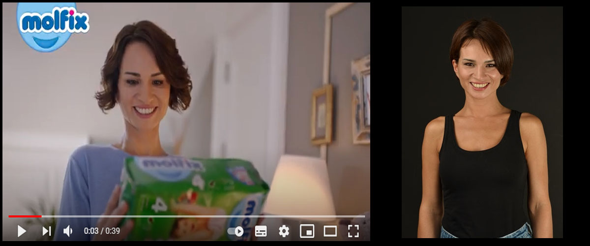 Molfix reklam filminde baþarýlý oyuncumuz Nihan Yýldýz yer aldý - IMC AJANS