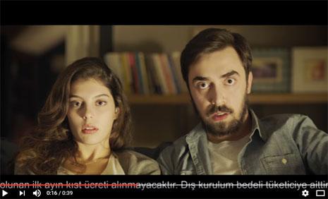 D-Smart Reklam Filminde Oyuncumuz Nur Cansu Solak Rol Aldý - IMC AJANS