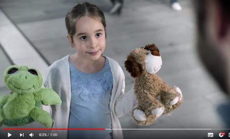 Fiat Egea Sedan Reklamýnda Çocuk Oyuncumuz Berra Dila Gürsoy Rol Aldý - IMC AJANS