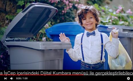 Ýþ Bankasý Dijital Kumbara Reklamýnda Çocuk Oyuncumuz Efe Özer Rol Aldý - IMC AJANS
