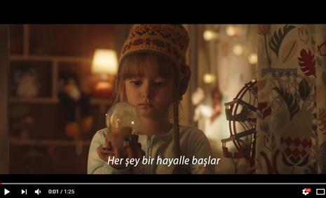 Mihrimah Cankur, Garanti Yýlbaþý Reklamýnda - IMC AJANS