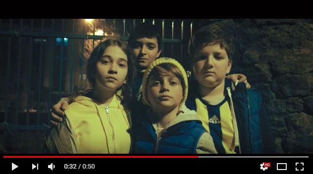 Oyuncularýmýz Süha Ceylan, Beril Özgür, Adar ve Ali Eren Altunkara, Türk Telekom Taraftar Reklamýnda - IMC AJANS