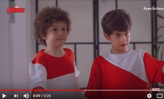 Yetenekli oyuncumuz Poyraz Süpçin, Hayat Su reklamýnda - IMC AJANS