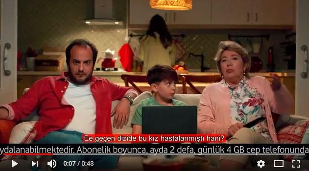 Vodafone Kaynana Reklamýnda Çocuk Oyuncumuz Muhammed Maþuk Koçak Yer Aldý - IMC AJANS