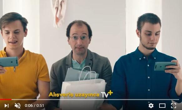 Oyuncularýmýz Hakan Bal ve Berke Barýn Turkcell Sen Nereye TV Oraya! reklamýnda yer aldý - IMC AJANS